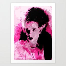 The Bride of Frankenstein Art Print