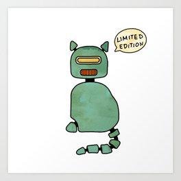 RoboCat – Limited Edition Art Print