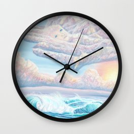 Les anges gardiens de l'amour Wall Clock