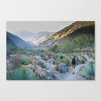 onward Canvas Prints featuring Onward by Kim Ramage