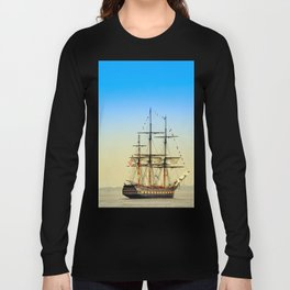 Sail Boston - Oliver Hazard Perry Long Sleeve T-shirt