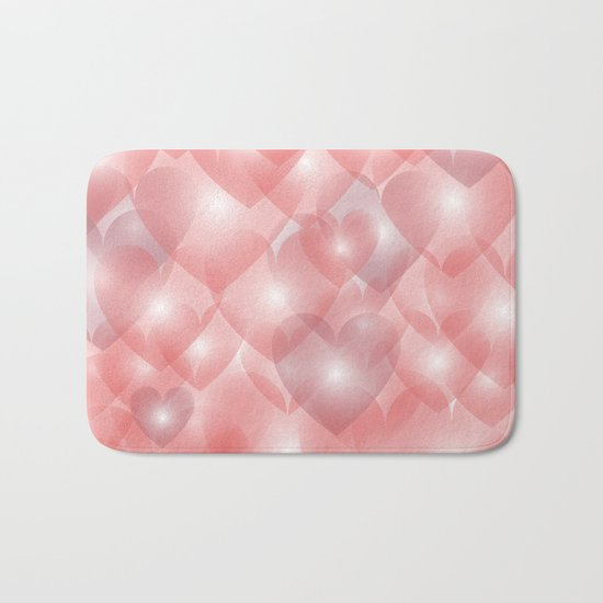 Hearts Aglow Bath Mat