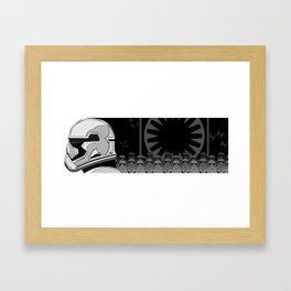 The Trooper Framed Art Print