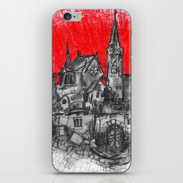 1991 - Imaginary French Village (High Res) iPhone Skin