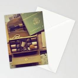 Vintage sewing box | Old army objects Stationery Cards