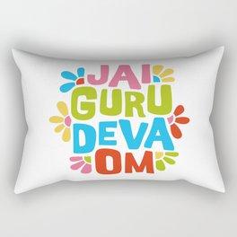 Jai Guru Deva Om Rectangular Pillow