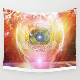Consciousness Arising - 3/3 Wall Tapestry