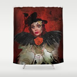 Just a Lady Shower Curtain