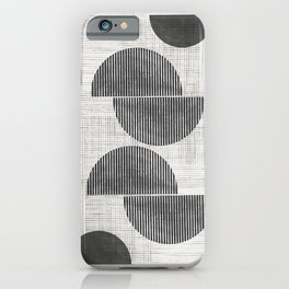 Old Retro Graphic Paper iPhone Case