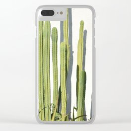 cali cacti Clear iPhone Case