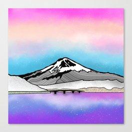Mount Fuji Canvas Print