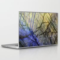 mineral Laptop & iPad Skins featuring Mineral Stone by Santo Sagese