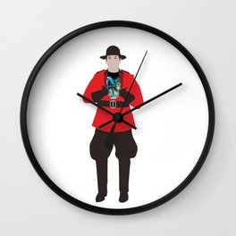 Canadian Spirit Animal Wall Clock