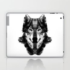 The Black Forest Wolf Laptop & iPad Skin
