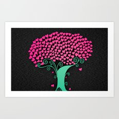 Tree Of Love  Art Print