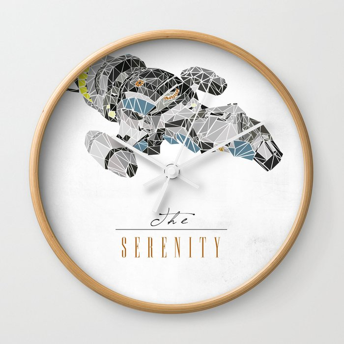 The Serenity Wall Clock