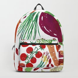 Warmy Vegetables Backpack