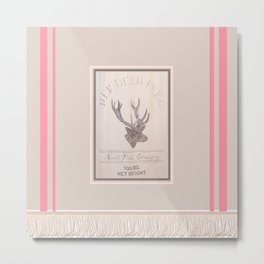 deEr aRt PiNk Metal Print