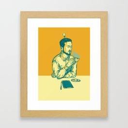 Have a nice idea! Framed Art Print