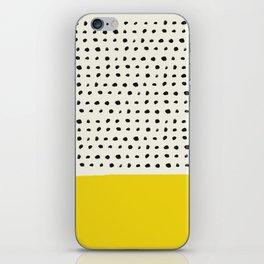 Sunshine x Dots iPhone Skin