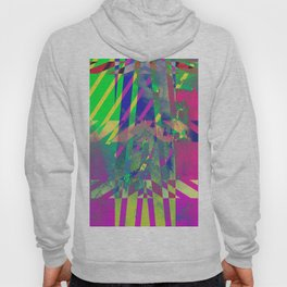 Clouds Mingle with Lines 1 Hoody