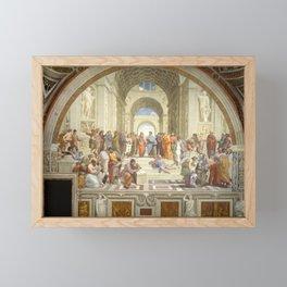 Raphael - The School of Athens Framed Mini Art Print