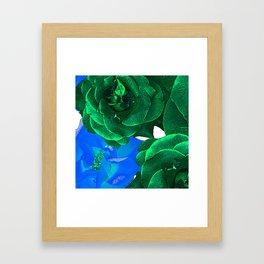 ROSE BLOSSOM Framed Art Print