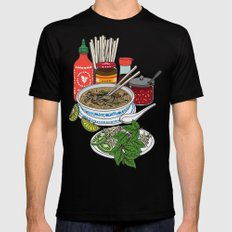 Pho-tastic! Mens Fitted Tee MEDIUM Black