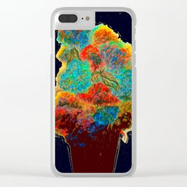 Wisteria Hysteria Clear iPhone Case