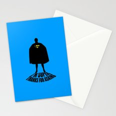 I'm Super, Thanks for Asking! Stationery Cards