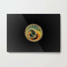 vintage clock_12 Metal Print