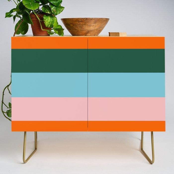 Color Stripe_007 Credenza