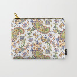 Watercolor Paisley #24 Carry-All Pouch