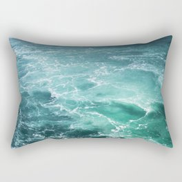 Sea Waves | Seascape photography Rectangular Pillow