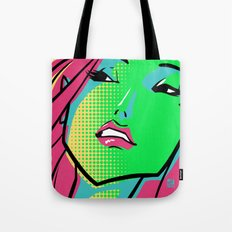 GCMYK GIRL Tote Bag