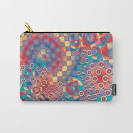 retro psychedelic Carry-All Pouch
