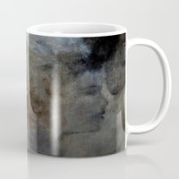 imagerybydianna Mugs featuring kátharsi̱ by Imagery by dianna