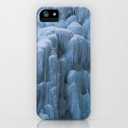 Frozen Waterfall iPhone Case
