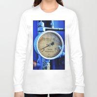 cabin pressure Long Sleeve T-shirts featuring Under Pressure by JR van Kampen