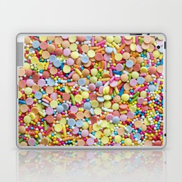 Rainbow Candy Sprinkles Art Laptop & iPad Skin
