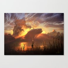 a world ruled by nature Canvas Print