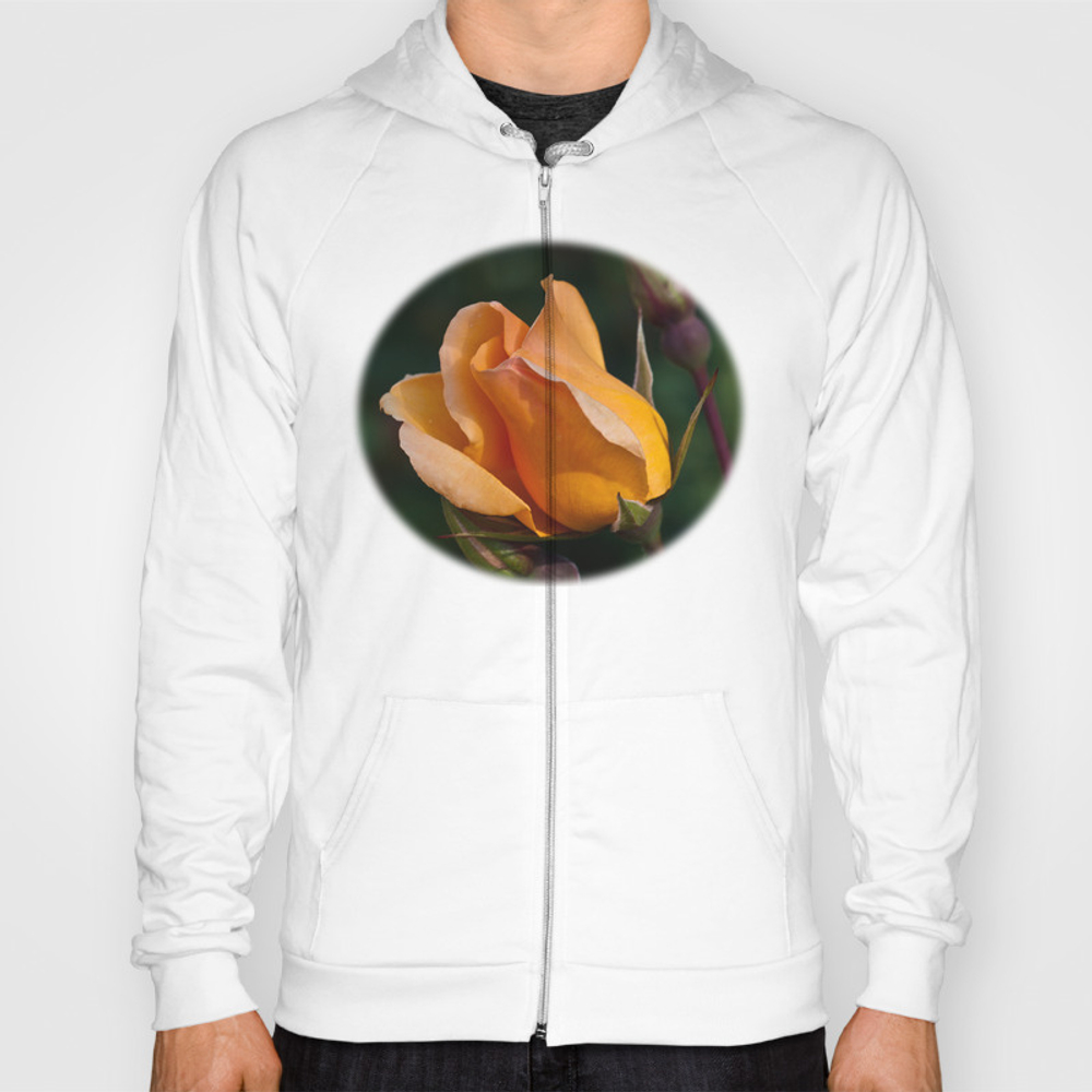 Perfectly Peach Rose Sweatshirt by Wealie SSR921386