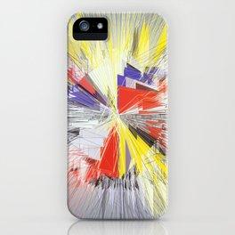Mondrian Big Bang iPhone Case