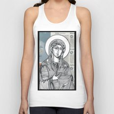 Madonna of Today's Horoscope Unisex Tank Top