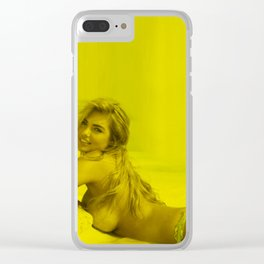 Kate Upton - Celebrity (Nude Photographic Art) Clear iPhone Case