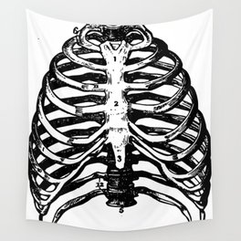anatomy, physiology, and hygiene 1849 Wall Tapestry