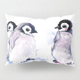 Penguins, penguin design baby penguin art, children gift Pillow Sham