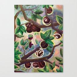Cocoa trade Canvas Print
