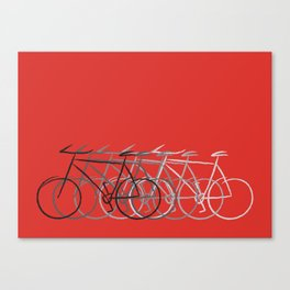Just bike Canvas Print