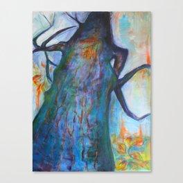 She Tree Canvas Print